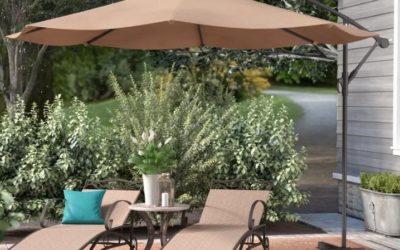 I migliori ombrelloni da giardino